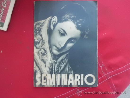 LIBRO SEMINARIO L-2035 (Libros de Segunda Mano - Religión)