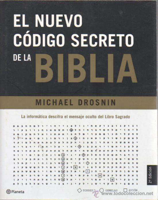 EL NUEVO CÓDIGO SECRETO DE LA BIBLIA, POR MICHAEL DROSNIN (Libros de Segunda Mano - Religión)