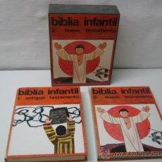 Libros de segunda mano: BIBLIA INFANTIL REGINA BELLAS ILUSTRACIONES DE SALVA RIBAS. Lote 34429626