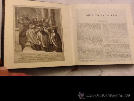 Libros de segunda mano: SANTA TERESA DE JESÚS. OBRAS COMPLETAS. AGUILAR. PIEL. 1951 - Foto 4 - 34618219