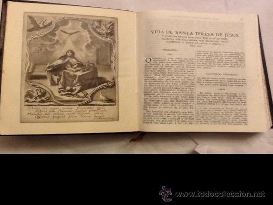 Libros de segunda mano: SANTA TERESA DE JESÚS. OBRAS COMPLETAS. AGUILAR. PIEL. 1951 - Foto 6 - 34618219