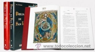Libros de segunda mano: Biblia de San Luis, siglo XIII, la Biblia de Reyes a su alcance. Facsímil. Moleiro - Foto 2 - 34661514
