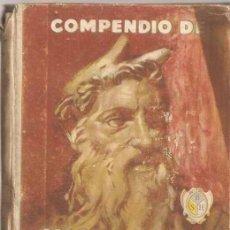 Libros de segunda mano: COMPENDIO DE HISTORIA SAGRADA - RAFAEL MARIMÓN - SEIX Y BARRAL 1953. Lote 34991142