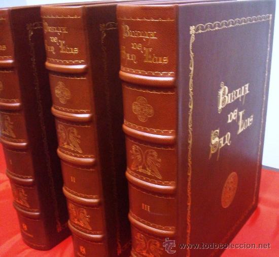Libros de segunda mano: Biblia de San Luis, siglo XIII, la Biblia de Reyes a su alcance. Facsímil. Moleiro - Foto 3 - 34661514