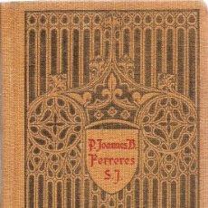 Libros de segunda mano: EPITOME THEOLOGIACE MORALIS DE P. JOANNES B. FERRERES S.I.. Lote 35499982