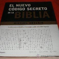 Libros de segunda mano: EL NUEVO CODIGO SECRETO DE LA BIBLIA - MICHAEL DROSNIN. 2003 PRIMERA EDICION. PLANETA. Lote 35712347