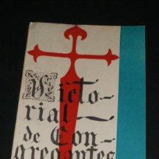 Libros de segunda mano: VICTORIAL DE CONGREGANTES, DE A BETANCUR Y S ORTIZ. COLOMBIA 1947.. Lote 36159847