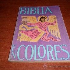 Libros de segunda mano: BIBLIA EN COLORES (BARCELONA, HERDER 1966). Lote 36420966