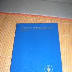 Libros de segunda mano: EL NUEVO TESTAMENTO. SALMOS. LOS GEDEONES INTERNACIONALES. EDICIÓN 1988.. Lote 36476496