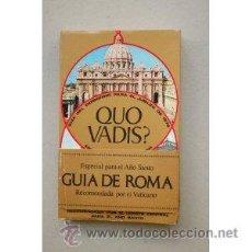 Libros de segunda mano: QUO VADIS? - GUIA DEL VATICANO - JUBILEO 1975 - CIENTOS DE FOTOS - EDICIONES NAUTA . Lote 36578731