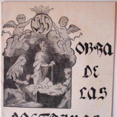 Libros de segunda mano: OBRA DE LAS DOCTRINAS RURALES. CURSO 1957-1958. Lote 36751856