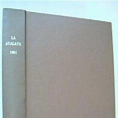 Libros de segunda mano: LA ATALAYA. ANUNCIANDO EL REINO DE JEHOVÁ. AÑO 1981 COMPLETO. Lote 37065895