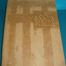 Libros de segunda mano: LA SANTA BIBLIA CARROGGIO S. A. BARCELONA 1969 REMBRANDT / SALVADOR DALÍ. Lote 218677087