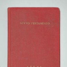 Libros de segunda mano: NUEVO TESTAMENTO 1964. Lote 38500975