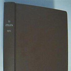 Libros de segunda mano: LA ATALAYA. ANUNCIANDO EL REINO DE JEHOVÁ. COMPRENDE AÑO 1985 COMPLETO. . Lote 38628599