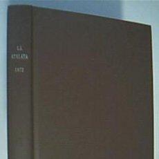 Libros de segunda mano: LA ATALAYA. ANUNCIANDO EL REINO DE JEHOVÁ. COMPRENDE AÑO 1992 COMPLETO. . Lote 38628651