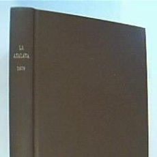 Libros de segunda mano: LA ATALAYA. ANUNCIANDO EL REINO DE JEHOVÁ. AÑO 1979 COMPLETO,. Lote 38684483