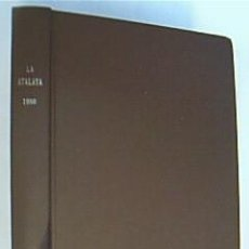 Libros de segunda mano: LA ATALAYA. ANUNCIANDO EL REINO DE JEHOVÁ. AÑO 1980 COMPLETO. . Lote 38684527