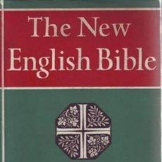 Libros de segunda mano: NEW TESTAMENT. THE NEW ENGLISH BIBLE.. Lote 38937795