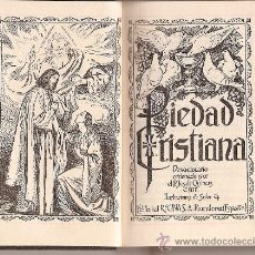 Libros de segunda mano: DEVOCIONARIO -PIEDAD CRISTIANA- 6ª EDICIÓN 1956. Lote 38963365
