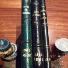 Libros de segunda mano: COLECCION COMPLETA FETES ET SAISONS AÑOS 1964 AL 1968. Lote 40304652