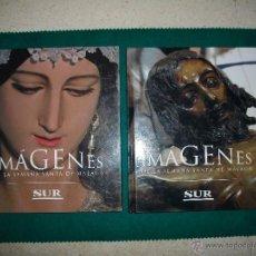 Livros em segunda mão: IMÁGENES DE LA SEMANA SANTA DE MÁLAGA (2 TOMOS) SIN LAS MEDALLAS. Lote 219149496