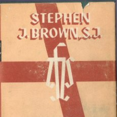 Libros de segunda mano: REALIDAD DE DIOS. STEPHEN J. NROWN, S. J. EDITORIAL PLANETA, S.A. 2ª ED. BARCELONA. 1968.. Lote 40602933