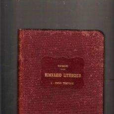 Libros de segunda mano: CAIMARI HIMNARIO LITÚRGICO MOSSEN ALCOVER 1944 PALMA DE MALLORCA. Lote 40662277