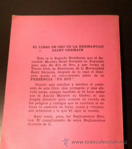 Libros de segunda mano: EL SÉPTIMO RAYO - SAINT GERMAIN - Foto 2 - 81247519