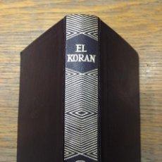 Libros de segunda mano: EL KORAN - AGUILAR - COLECCION JOYA. Lote 41030483