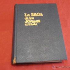 Libros de segunda mano: LA BIBLIA DE LOS JOVENES, ILUSTRADA, 1971. Lote 41215539