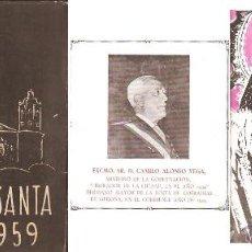 Libros de segunda mano: SEMANA SANTA .- GIRONA AÑO 1959. Lote 41369575