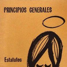 Libros de segunda mano: PRINCIPIOS GENERALES - ESTATUTOS COMUNIDADES DE VIDA CRISTIANA - CONGREGACIONES MARIANAS - RR2. Lote 41463487
