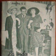 Libros de segunda mano: REY, J. - LA VIDA DE SOCIEDAD. EDITORIAL SAL TERRAE. FOLLETOS 89-S. SANTANDER, 1962.. Lote 41516307