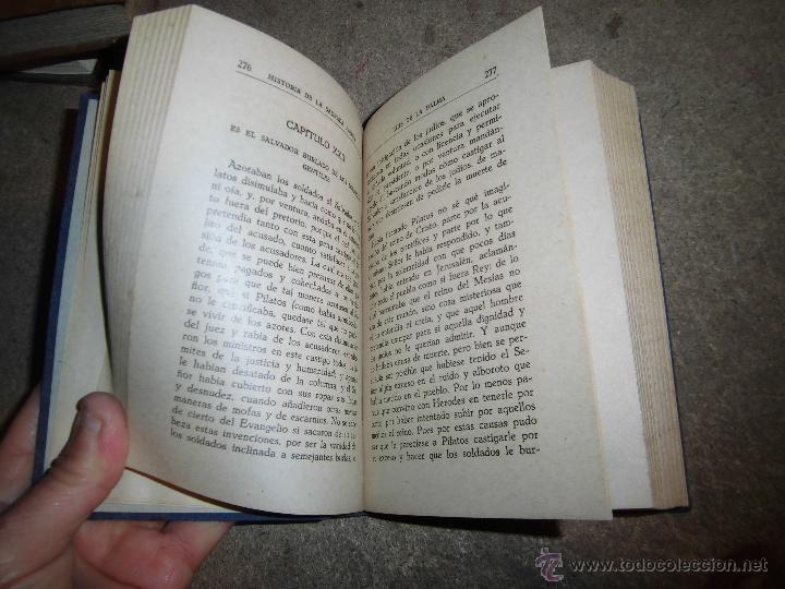 Libros de segunda mano: HISTORIA DE LA SAGRADA PASION SACADA DE LOS 4 EVANGELIOS.PADRE LUIS DE LA PALMA.MADRID 1940.-7ª EDIC - Foto 3 - 56957823