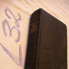 Libri di seconda mano: ANTIGUO LIBRO MISAL COMPLETO LATINO - ESPAÑOL. Lote 42452440