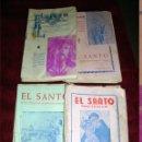 Libros de segunda mano: EL SANTO REVISTA POPULAR DE SAN ANTONIO 15 BOLETINES 1954-55-55-56 Y 57 . Lote 42636891