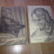 Libros de segunda mano: EL HOMBRE - DIOS - MARIA VALTORTA, 2 VOLUMENES. Lote 226644065