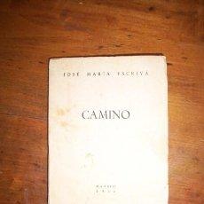 Libros de segunda mano: ESCRIVÁ, JOSÉ MARÍA. CAMINO. Lote 43596619