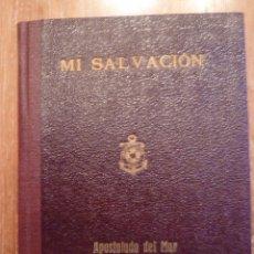 Libros de segunda mano: DEVOCIONARIO MI SALVACIÓN DE 1945. Lote 43722063
