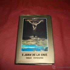 Libros de segunda mano: OBRAS COMPLETAS - SAN JUAN DE LA CRUZ. Lote 43870957