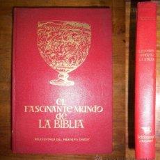 Libros de segunda mano: KEYES, NELSON BEECHER. EL FASCINANTE MUNDO DE LA BIBLIA . Lote 43966033