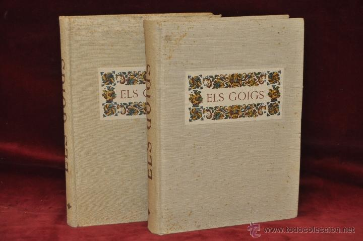 Libros de segunda mano: ELS GOIGS PER JOAN AMADES. 1939. ED.ORBIS. 2 VOLUMENES (COMPLETA) TIRAJE LIMITADO DE 500 EJEMPLARES. - Foto 2 - 44464385