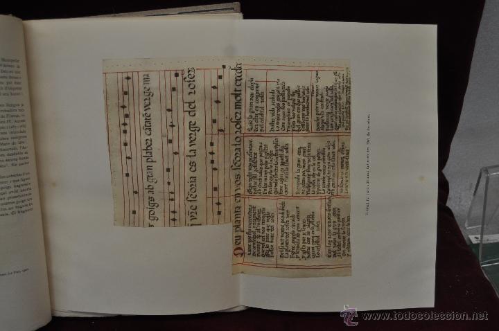 Libros de segunda mano: ELS GOIGS PER JOAN AMADES. 1939. ED.ORBIS. 2 VOLUMENES (COMPLETA) TIRAJE LIMITADO DE 500 EJEMPLARES. - Foto 10 - 44464385