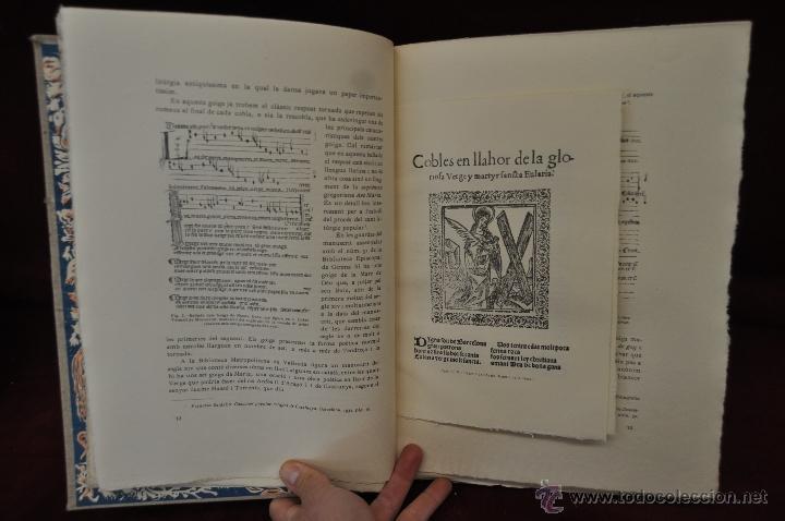 Libros de segunda mano: ELS GOIGS PER JOAN AMADES. 1939. ED.ORBIS. 2 VOLUMENES (COMPLETA) TIRAJE LIMITADO DE 500 EJEMPLARES. - Foto 12 - 44464385