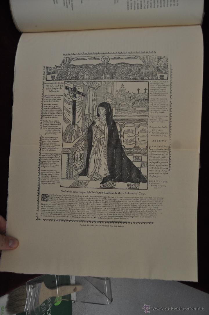 Libros de segunda mano: ELS GOIGS PER JOAN AMADES. 1939. ED.ORBIS. 2 VOLUMENES (COMPLETA) TIRAJE LIMITADO DE 500 EJEMPLARES. - Foto 14 - 44464385