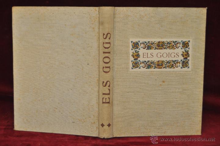Libros de segunda mano: ELS GOIGS PER JOAN AMADES. 1939. ED.ORBIS. 2 VOLUMENES (COMPLETA) TIRAJE LIMITADO DE 500 EJEMPLARES. - Foto 16 - 44464385