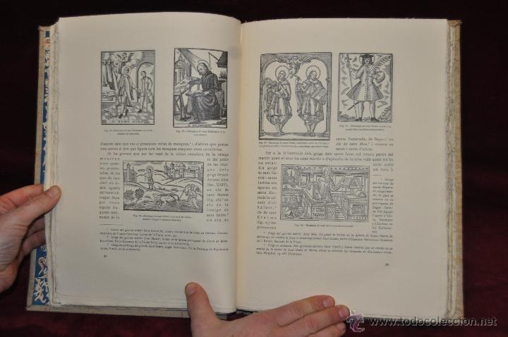 Libros de segunda mano: ELS GOIGS PER JOAN AMADES. 1939. ED.ORBIS. 2 VOLUMENES (COMPLETA) TIRAJE LIMITADO DE 500 EJEMPLARES. - Foto 26 - 44464385