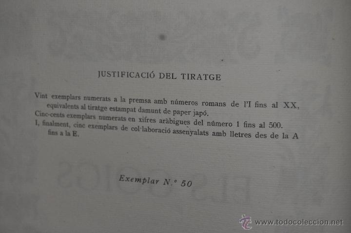 Libros de segunda mano: ELS GOIGS PER JOAN AMADES. 1939. ED.ORBIS. 2 VOLUMENES (COMPLETA) TIRAJE LIMITADO DE 500 EJEMPLARES. - Foto 29 - 44464385