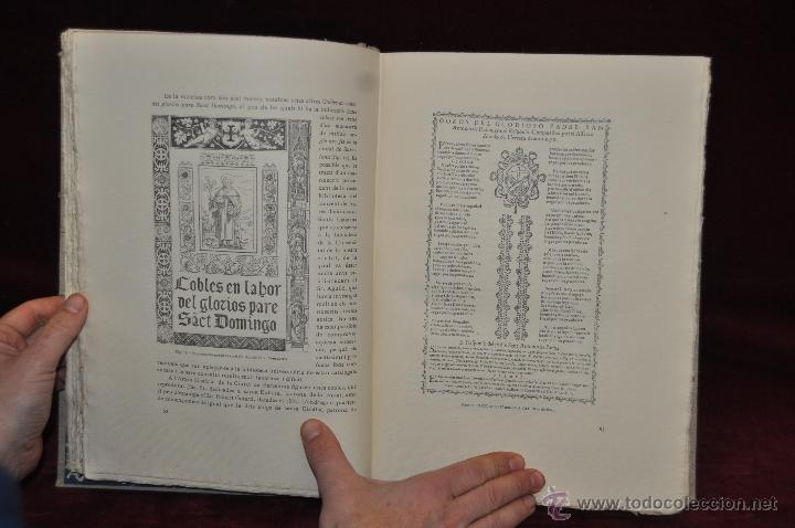 Libros de segunda mano: ELS GOIGS PER JOAN AMADES. 1939. ED.ORBIS. 2 VOLUMENES (COMPLETA) TIRAJE LIMITADO DE 500 EJEMPLARES. - Foto 30 - 44464385